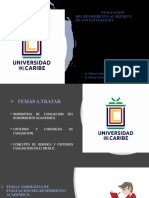 PRESENTACION RENDIMIENTO ACADEMICO DE LOS ESTUDIANTES UNIDAD IV