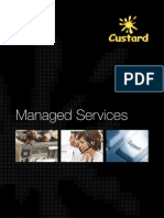 Managed Services Ppt -New | Technical Support | Computer Network