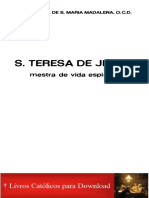 Frei Gabriel de Sta Maria Madalena_OCD_Santa Teresa_Mestra_logo