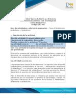 Guía de actividades y Rúbrica de evaluación - Tarea 4 - Metabolismo - Anabolismo y Catabolismo (1)