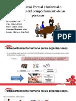 sistema real formal e informal del comportamiento de las personas en las empresas.pptx