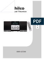 Micro Sistem Philco Com Dvd Mod. Ph 671