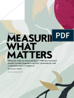 GDP Is the Wrong Tool for Measuring What Matters