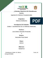 Unidad 1 Caracterización De Los Sistemas Distribuidos