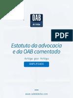 Estatuto da OAB comentado - Simplificado