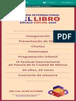 Programa FILZVirtual 2020 8Octubre