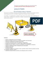 5. Medidas e equipamentos de protecção individual e coletiva