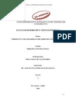PERSPECTIVAS DEL DESARROLLO DEL DERECHO CONSTITUCIONAL LILIAN