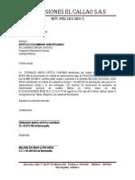 carta de permiso ante el ica