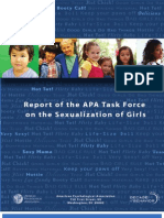 Report of the APA Task Force on the Sexualization of Girls