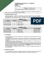 9° CÁTEDRA DE LA PAZ - PAC CUARTO PERIODO- OCTUBRE 01