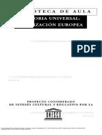 Historia Universal- Civilizacion Europea