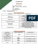 C V  METOU'OU pdf