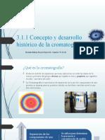 3.1 introduccion a la cromatografia