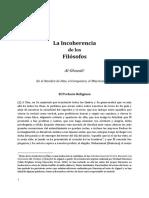 La Incoherencia de Los Filósofos.pdf