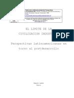 El límite de la civilización industrial_Lander- Leff- FaCES