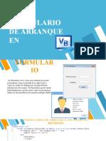 Formulario de arranque en Visual Basic