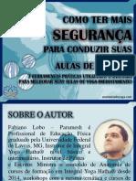 E-book COMO TER MAIS SEGURANÇA PARA CONDUZIR SUAS AULAS DE YOGA