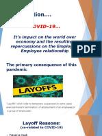 Presentation on Layoffs