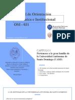CAPÍTULO I OSI-031