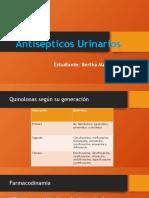 Clasificación Antisépticos urinarios