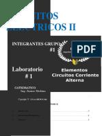 GUÍA DE LABORATORIO No 1 - Elementos de Circuito en Corriente Alterna (2)