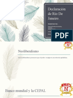 Diapositiva Declaracion De Rio de Janeiro. (1)
