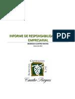 Informe de Responsabilidad Social Empresarial