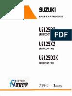 Suzuki address z125 parts manual