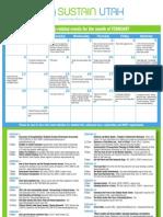 Sustain Utah Calendar Feb 2011