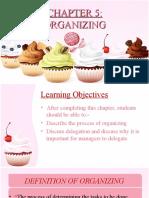 Topic 5 Organizing