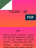 TUGAS - 10