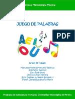 JUEGO DE PALABRAS