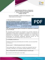 Guía de actividades y Rúbrica de evaluación Paso 2- Ejercitación de la unidad 1