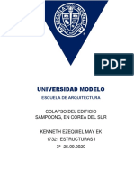 T-  COLAPSO DEL EDIFICIO SAMPOONG y EDIFICIO SPACE, MEDELLÍN, COLOMBIA