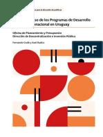 Estudio de caso de los Programas de Desarrollo