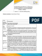 Anexo 2 – Revisión bibliográfica, Camila García Pineda
