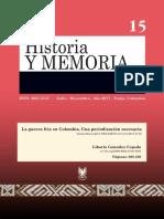 Guerra fría en Colombia_Liborio_2017