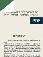 Comparatie sisteme de invatamant Romania-Italia_ro