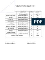 ANALISIS JADUAL  WAKTU.docx