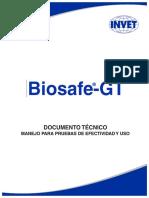 Documento Técnico Biosafe