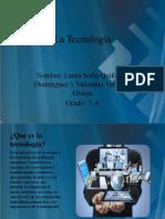 La Tecnología quiñones 7a.pptx