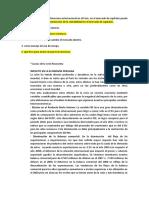 Que ocurre con una crisis financiera internacional en el Perú (SOPORTE DE TRABAJO)