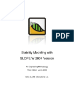 SLOPEW 2007 engineering book