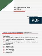 11 IIR Filter Design.ppt