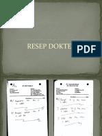 resep dokter ppt