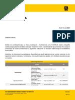 Comunicado General MSC Colombia Abril  2020