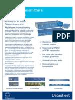 Transmitters-Datasheet idigo vision