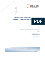 Módulo de Fundamentos da Ciência Geográfica