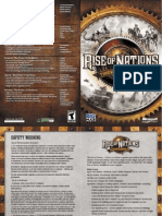 Rise of Nations Thrones and Patriots Expansion Manual (English)